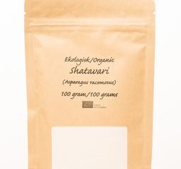 Shatavari-pulver, eko, 100 gram