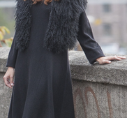KATARINA- cashmere klänning