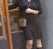 HEDVIG- cashmere klänning