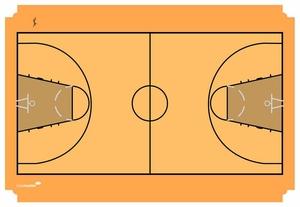 Taktiktavla Basketplan