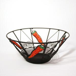 Smidesskål liten Chili