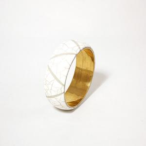 Armband strutsmosaic ljusbrun