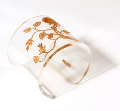 Cuff, Thorn Flower, Transparent, 60 mm