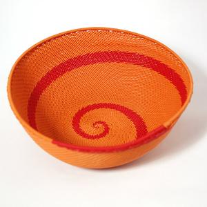 Puhelinlanka kulho oranssi & punainen