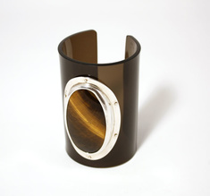 Cuff Tigereye, 80 mm