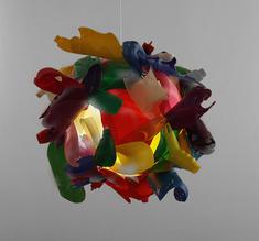 Heath Nash - Multicolour bottleform ball