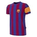Barcelona retro T-shirt med kaptensbindel