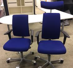 Kontorsstolar Håg H05 blå