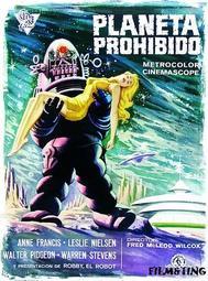 Poster: Forbidden Planet - (Planeta Prohibido) Spansk Poster