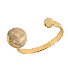 Ioaku - The Planet Cuff Gold / Light Brown