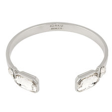 Ioaku - The Legacy Cuff Silver / White