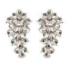 Ioaku - The Fleur Earrings Silver