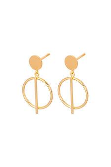 Pernille Corydon - Horizon Earsticks Goldplated Silver