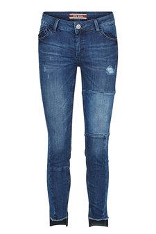 Mos Mosh - Sumner Patch Step Jeans Blue denim