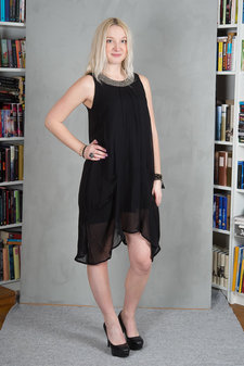 Monrow - Marina Dress Black