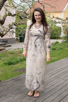 OOTD - Maxi Dress Easy To Dress Beige
