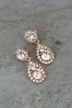 Lily and Rose - Sofia Earrings Silk Rose Gold