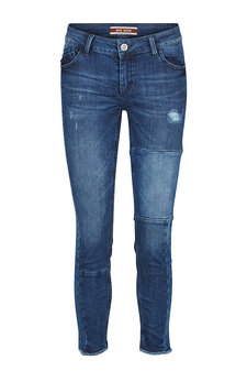 Mos Mosh - Sumner Patch Jeans Blue denim