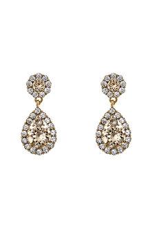 Lily and Rose - Petite Sofia Earrings Light Silk