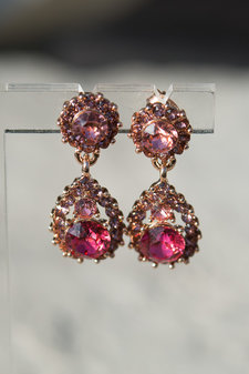 Lily and Rose - Sofia Earrings Indian Pink