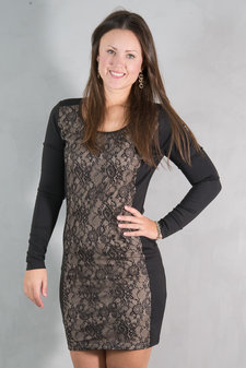 Second Female - Hero Dress Black / Nude