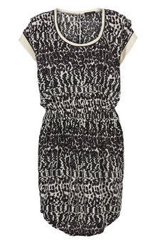Second Female - Palini Dress Black/White