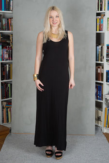 Monrow - Gianna Dress Black