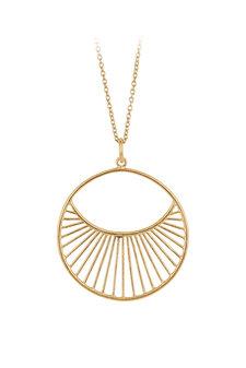 Pernille Corydon - Daylight Necklace 80 cm Gold