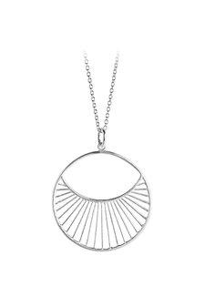 Pernille Corydon - Daylight Necklace Short Silver