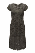 Rosemunde - Dress short sleeve Olive Shade