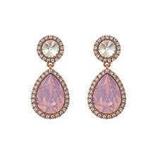 Lily and Rose - Miss Carlotta Earrings Rose Water Opal