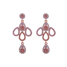 Lily and Rose - Isabell Earrings Blush Rose
