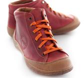 Tora, röd, skinn, Cinnamon