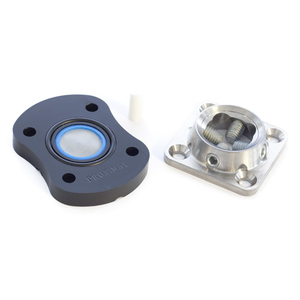 Suction Spacer Plate with Titanium Pyramid Receiver