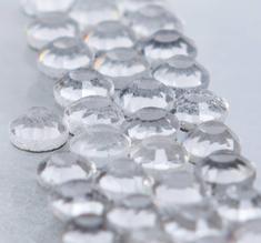 HOT-FIX GLITTERKRISTALLER, crystal Globus