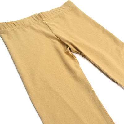 Leggings, Musterd Yellow