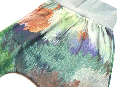 Harem Trousers, Digital Cubic