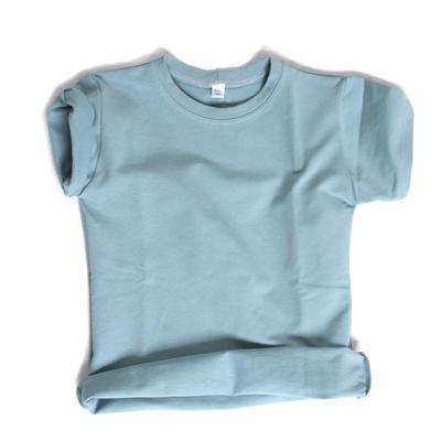 T-shirt, Blue thin jogging
