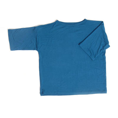 T-shirt Wide Blue, Look at me