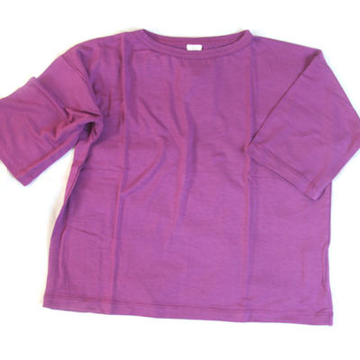 T-shirt Wide Violet, Look at me