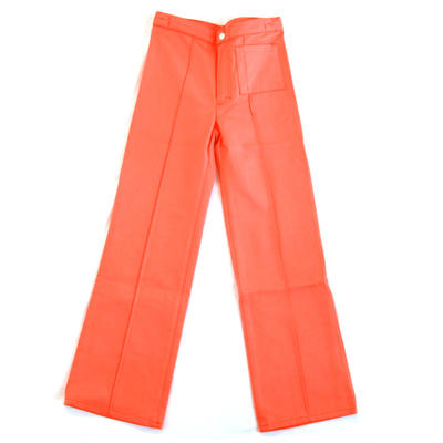 Trousers Flare, Peach
