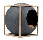 Le Cube Dark grey wood edition - Meyou Paris