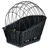 Cykelkorg för pakethållare svart