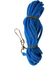 Koppel till kattsele 5 meter blått