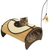Bamboo Cat Pod lek- & sovplats