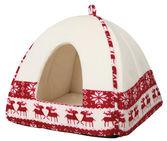 Santa cuddly cave