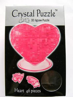 Kristallpussel Hjärta