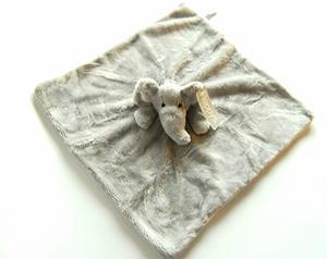 Snuttefilt Elefant Lukas
