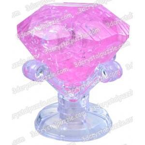 Kristallpussel diamant