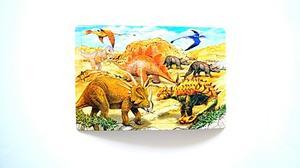 Rampussel dinosaurier 48 bitar